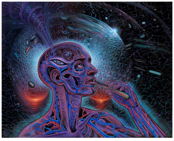 Alex Grey - Mars 1 LSD Bicycle Day